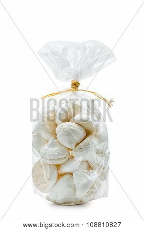 White Meringues In A Bag