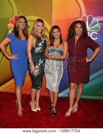 LOS ANGELES - NOV 17:  Alex Meneses, Jadyn Douglas, Eva Longoria, Diana Maria Riva at the Press Junket For NBC's