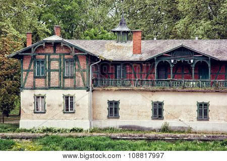 Old Station Building In Gyor, Hungary