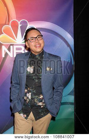 LOS ANGELES - NOV 17:  Nico Santos at the Press Junket For NBC's