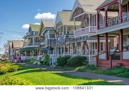 Oak Bluffs on Marthas Vineyard