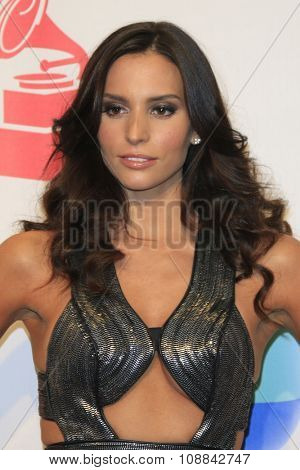 LAS VEGAS - NOV 19:  Genesis Rodriguez at the 16th Latin GRAMMY Awards at the MGM Grand Garden Arena on November 19, 2015 in Las Vegas, NV