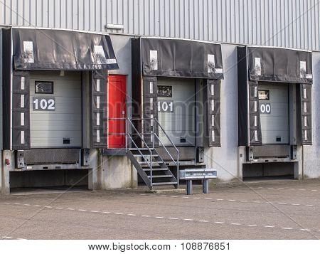 Three Freight Docks