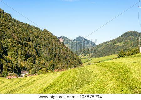 The Limestone Alps in Upper Austria