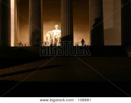 Ghostly Homage To Lincoln