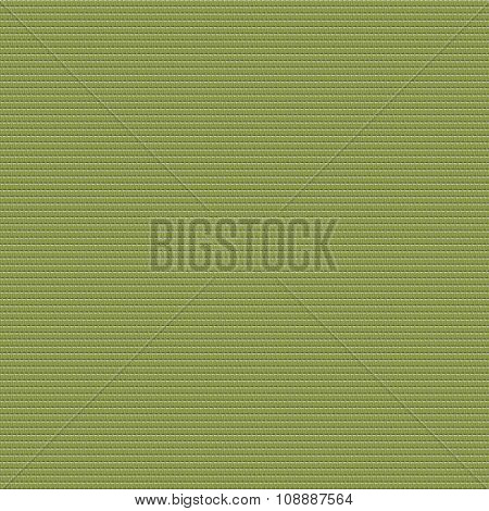 Seamless geometrical texture made of green modified hexacom tiles poster