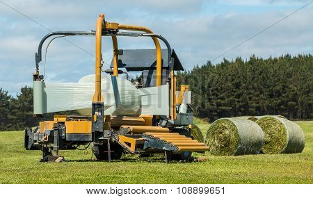 Silage Round Bale Wrapper