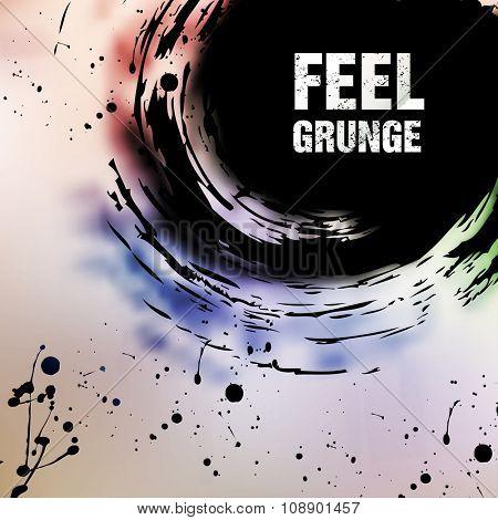 Abstract retro vintage grunge background