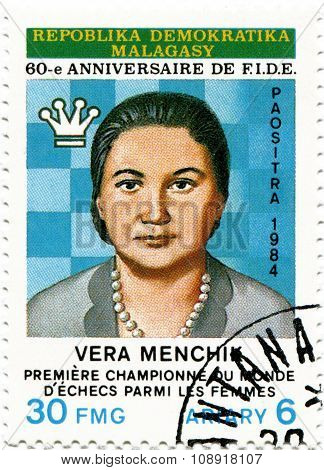 Vera Frantsevna Menchik - the first in the history of world chess champion (1927-1944)