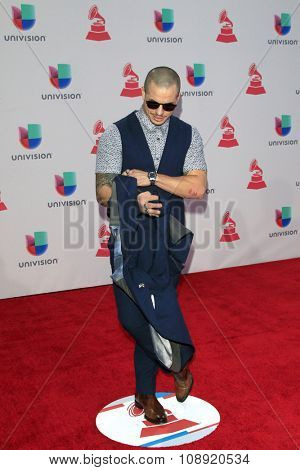 LAS VEGAS - NOV 19:  Beau Casper Smart at the 16th Latin GRAMMY Awards at the MGM Grand Garden Arena on November 19, 2015 in Las Vegas, NV