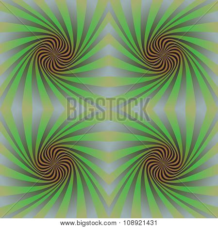 Seamless colorful psychedelic spiral pattern background