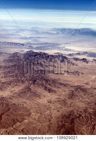 The Baba Mountain Range Of The Hindu Kush Between Kabul And Kandahar In Afghanistan