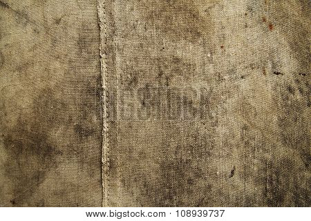 Old Stained Canvas
