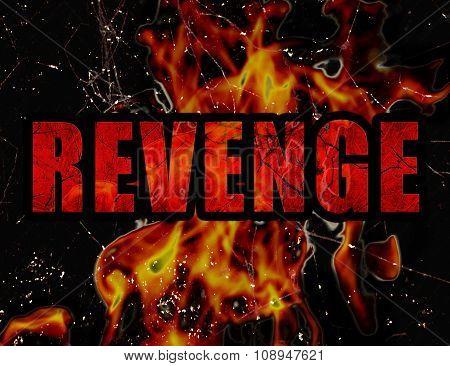 Revenge Concept Typographic Design