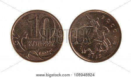 Coin Of Ten Kopeck