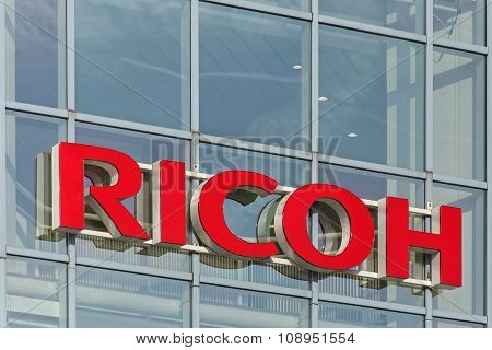 Window Of The Ricoh Office