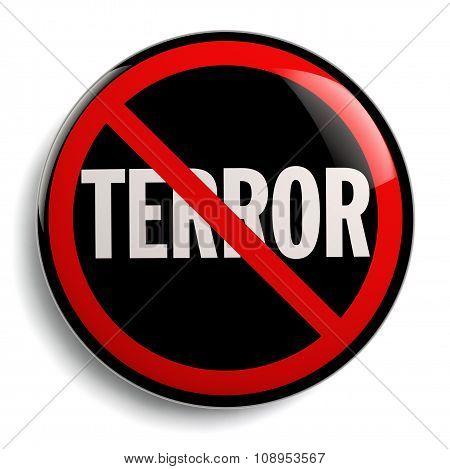 Stop Terror Sign