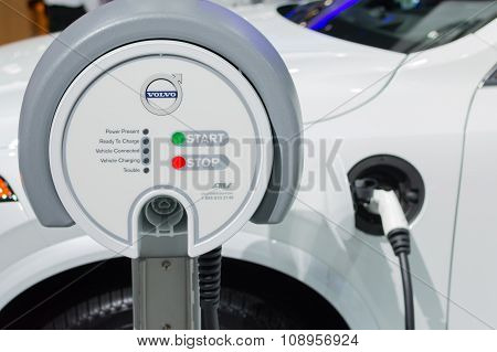 Volvo Electric Car Station