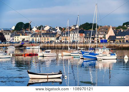 Port Of Concarneau, Brittany, France
