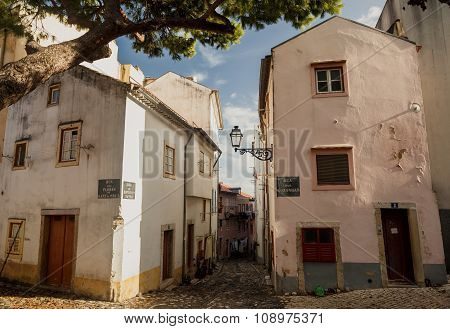 Old Lissabon houses