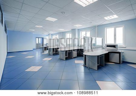plain office space interior