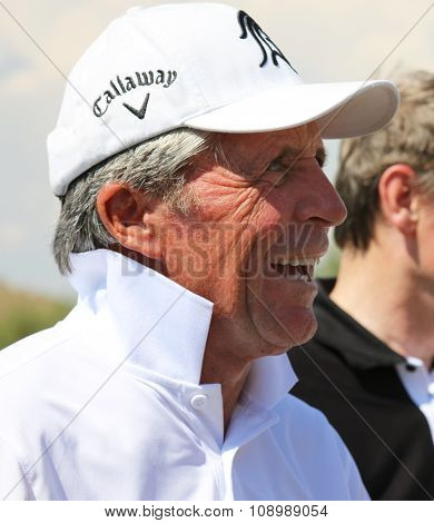 Tournament Presenter And Grand Master Gary Player Cracking Some Jokes After The Event On November 20