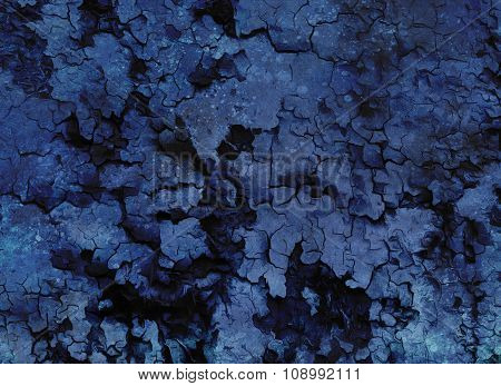 Abstract Backgrounds structure monochromatic in blue violett