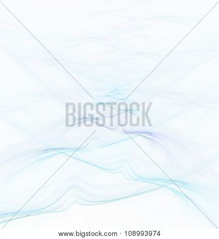 Abstract Fractal Background With Water Surface Texture
