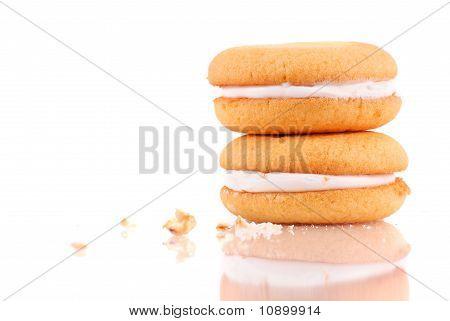 Cream Center Sponge Cake Cookie