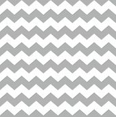 Tile vector pattern with white and grey zig zag background for seamless decoration wallpaper poster