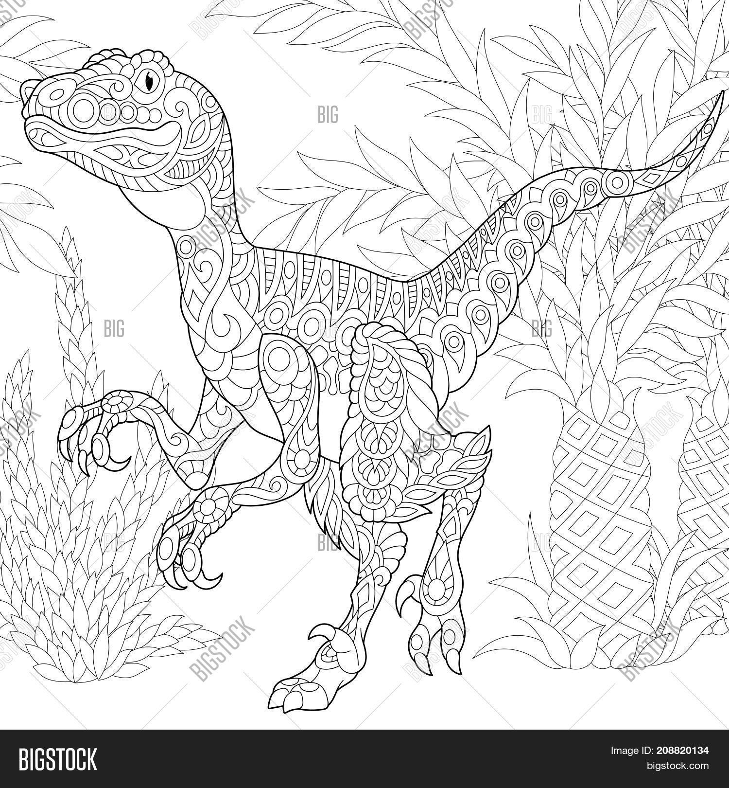 Coloring Page Image Photo Free Trial Bigstock