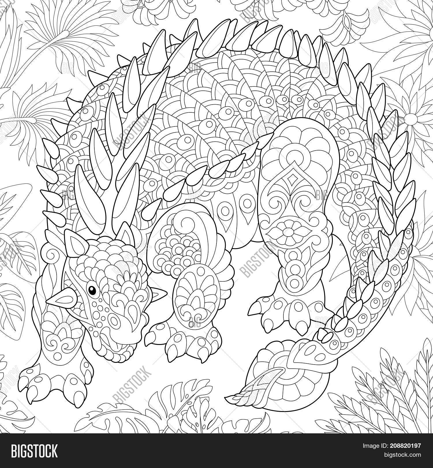 Coloring Page Image & Photo (Free Trial)   Bigstock