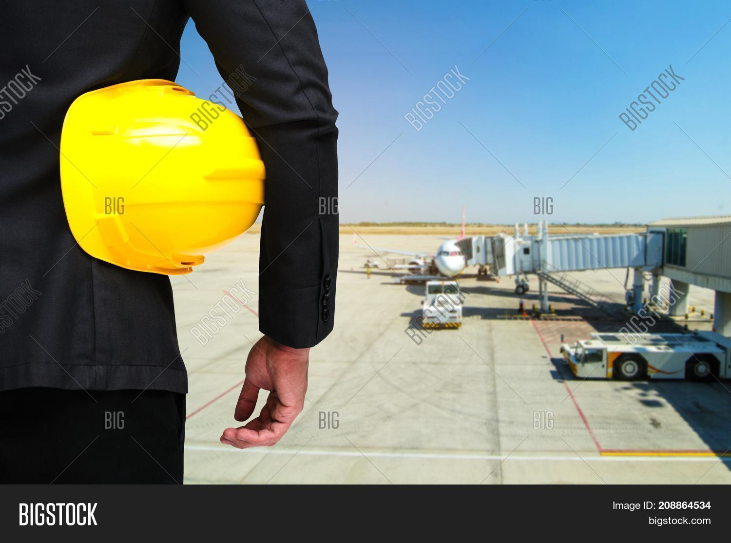 Back View Engineer Image & Photo (Free Trial) | Bigstock