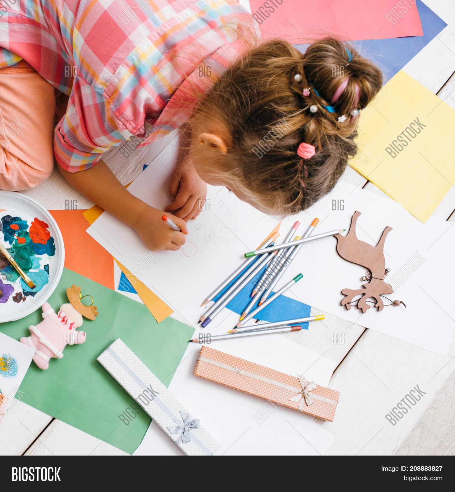Handmade Kids Image Photo Free Trial Bigstock