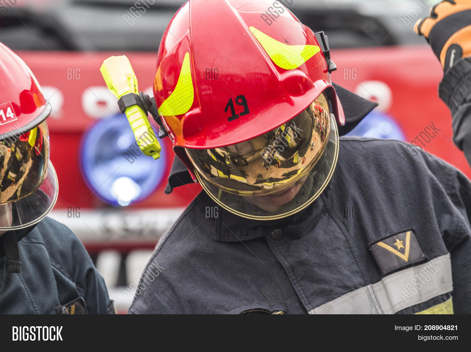 Firefighters Working Image & Photo (Free Trial)   Bigstock