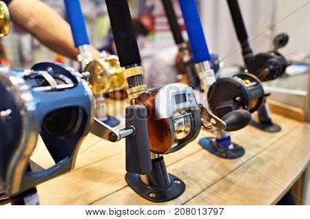 Baitcasting Reel On Fishing Rods