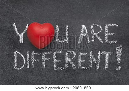 You Are Different Heart