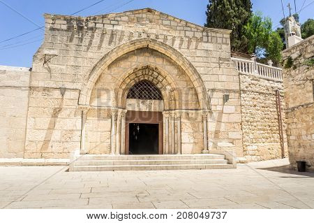Church of the Sepulchre of Saint Mary, Tomb of the Virgin Mary, Christian tomb at the foot of Mount of Olives in Jerusalem, Israel