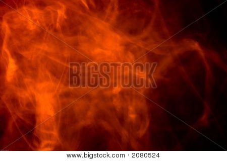 Fire Fog Background