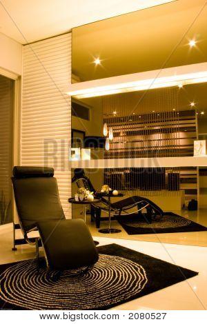 Elegant Lounge With Beautiful Interior Design