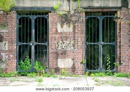 Old Bunker Doors at Sandy Hook New Jersey