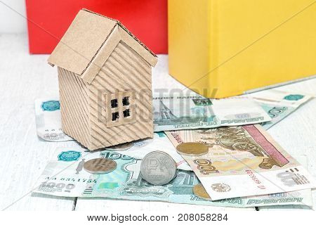 Russian money and a house. Ruble mortgage