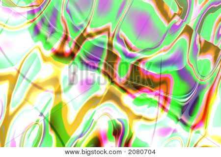 Abstract Composition, Fantasy Worlds