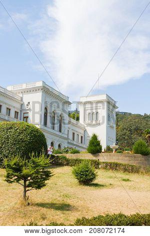 The Area Near Vorontsov Palace In Yalta
