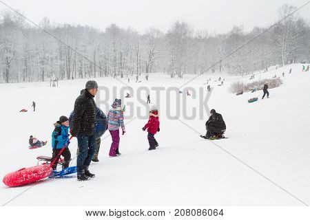 Winter Fun Skating Hills With Snow On Cheesecakes Sleigh And Snow