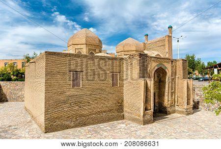 Magoki-Attori mosque in the old town of Bukhara, Uzbekistan. Central Asia