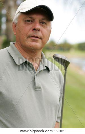 Golfer 8734