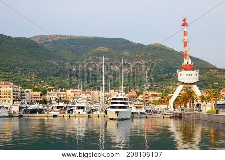 Port of Tivat, Montenegro