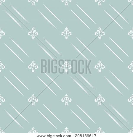 Seamless classic blue and white pattern. Traditional orient ornament. Classic vintage background