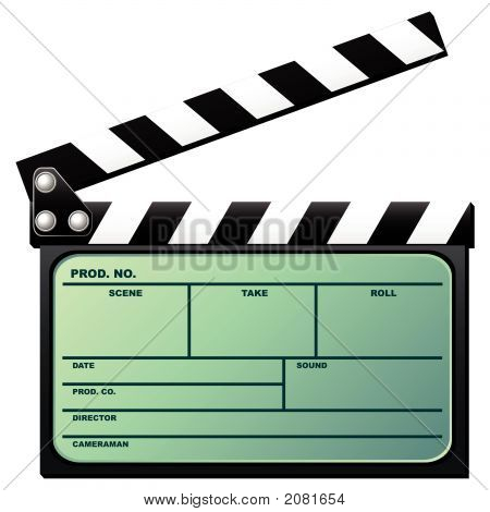 Digital Movie Clapboard